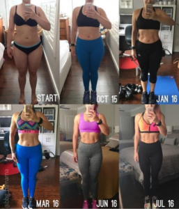 @bbgfitmama's amazing process in such a short time period.