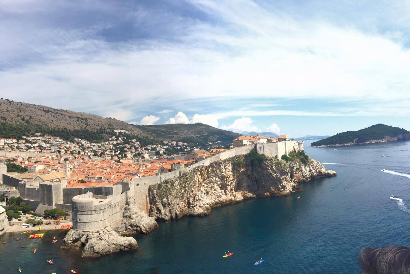 "A view of ""Kings Landing"" from ""The Red Keep"""